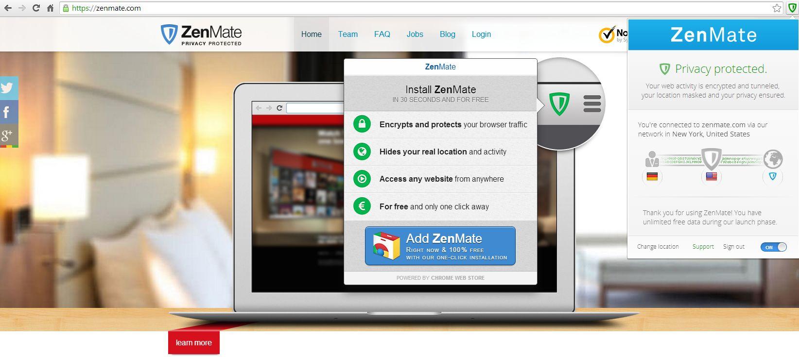 Zenmate FГјr Firefox