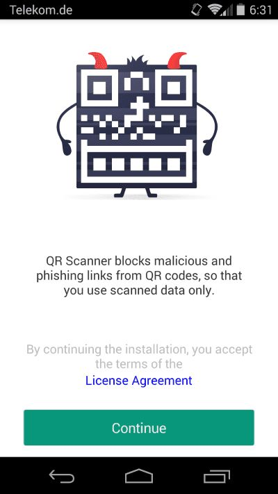 Kaspersky QR Scanner (iOS) - dobreprogramy