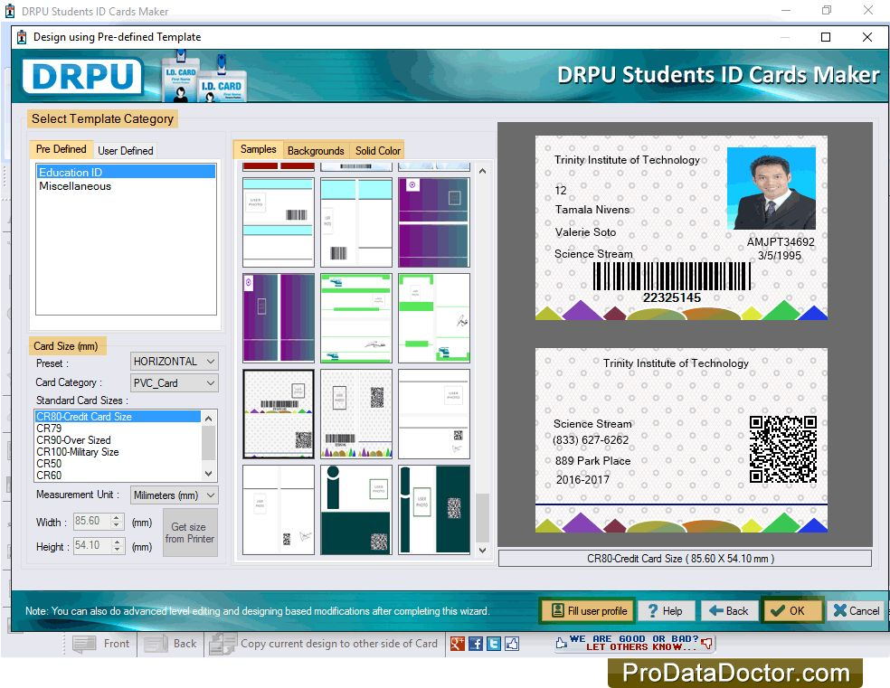 id card maker software for schools 8532  make student