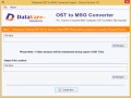 Free Download OST to MSG Converter Software