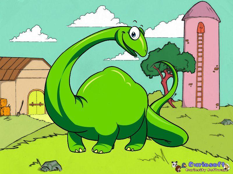 Fun Dinosaur Screensaver