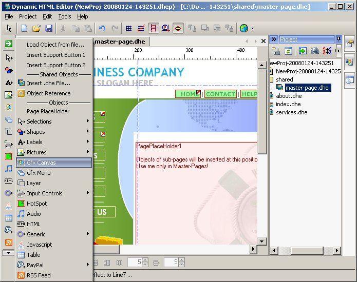Dynamic HTML Editor 5 7 - Dynamic WYSIWYG HTML Editor