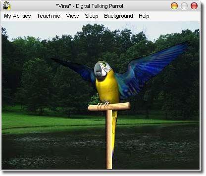 ������ Digital Talking Parrot 1.0.14 ������� ������� ���� �� ������� �� �����