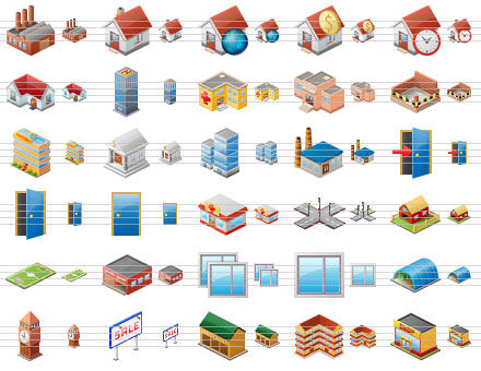 building icon png. Large Home Icons 2011.1
