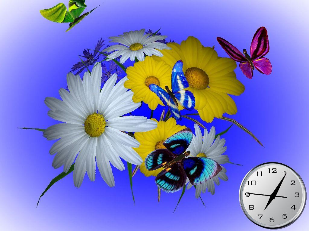flowers 3D screensaver